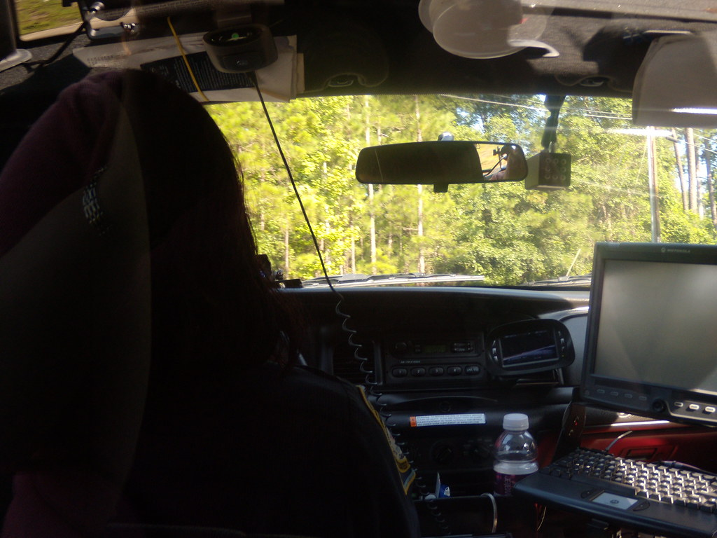 The View From Backseat Of A Police Car 40 365