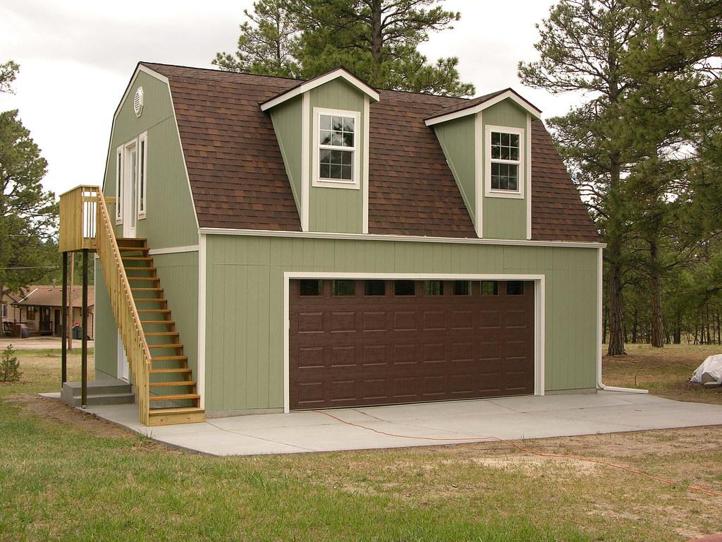 dog kennel in garage ideas - Premier Barn Garage