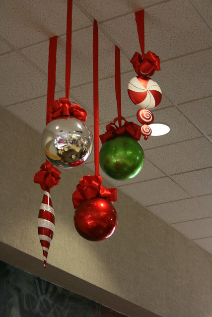 Large shaped christmas decorations flickr photo sharing for Large christmas decorations