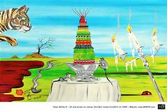 HD Art Painting Surrealismy I & II - NAME.011