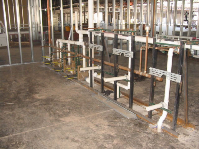 Fig No 0615 And 0210dy M54 Metal Stud Jobsite Installati