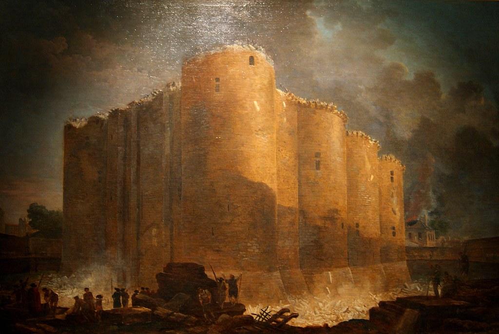 Hubert Robert La Bastille Dans Les Premiers Jours De Sa D