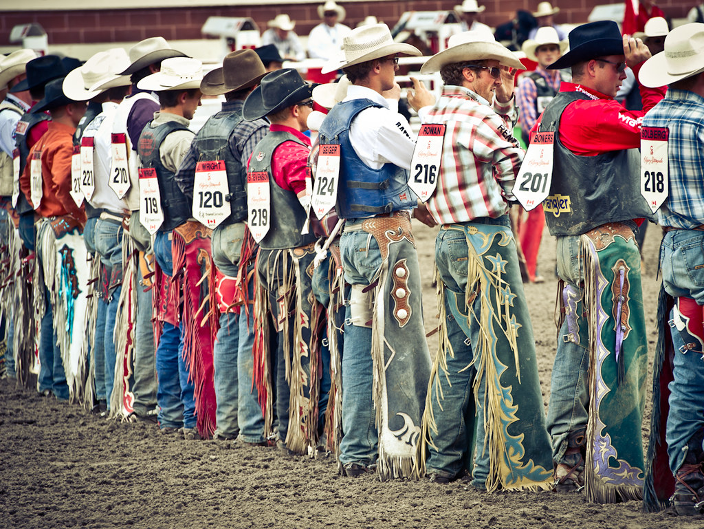 Cowboys In Chaps Photo Credit Bill Marsh Calgary