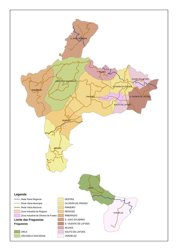 oliveira de frades mapa Mapa do concelho, Oliveira de Frades | Mapa do concelho, Oli… | Flickr oliveira de frades mapa