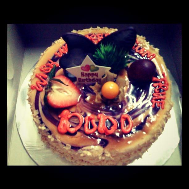 A My 22th Birthday Cake