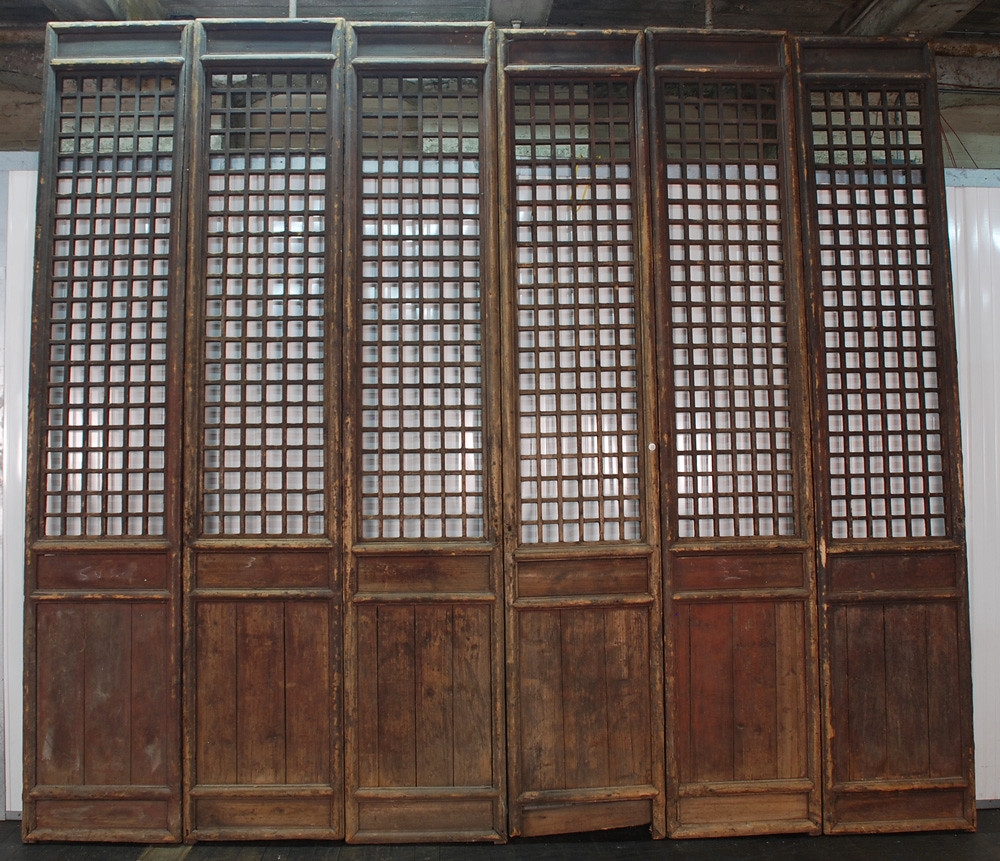 ... cs1011-antique-chinese-wooden-screen-doors | by Silk Road Collection - Cs1011-antique-chinese-wooden-screen-doors Antique Chinese… Flickr