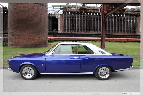 1967 Ford 20m P7a Coup 233 The Ford 17 M Was A Range Of
