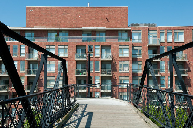 Apartments / Rail Path Bridge