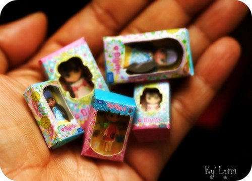 Miniature Blythe's in boxes | by © My Delicious Bliss