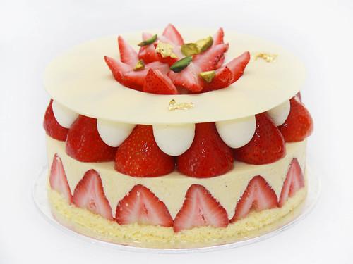 Strawberry Birthday Cake Singapore