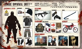 Zombie survival sheet (Xan's Version) | by Xan - Now on BF: Hardline =P