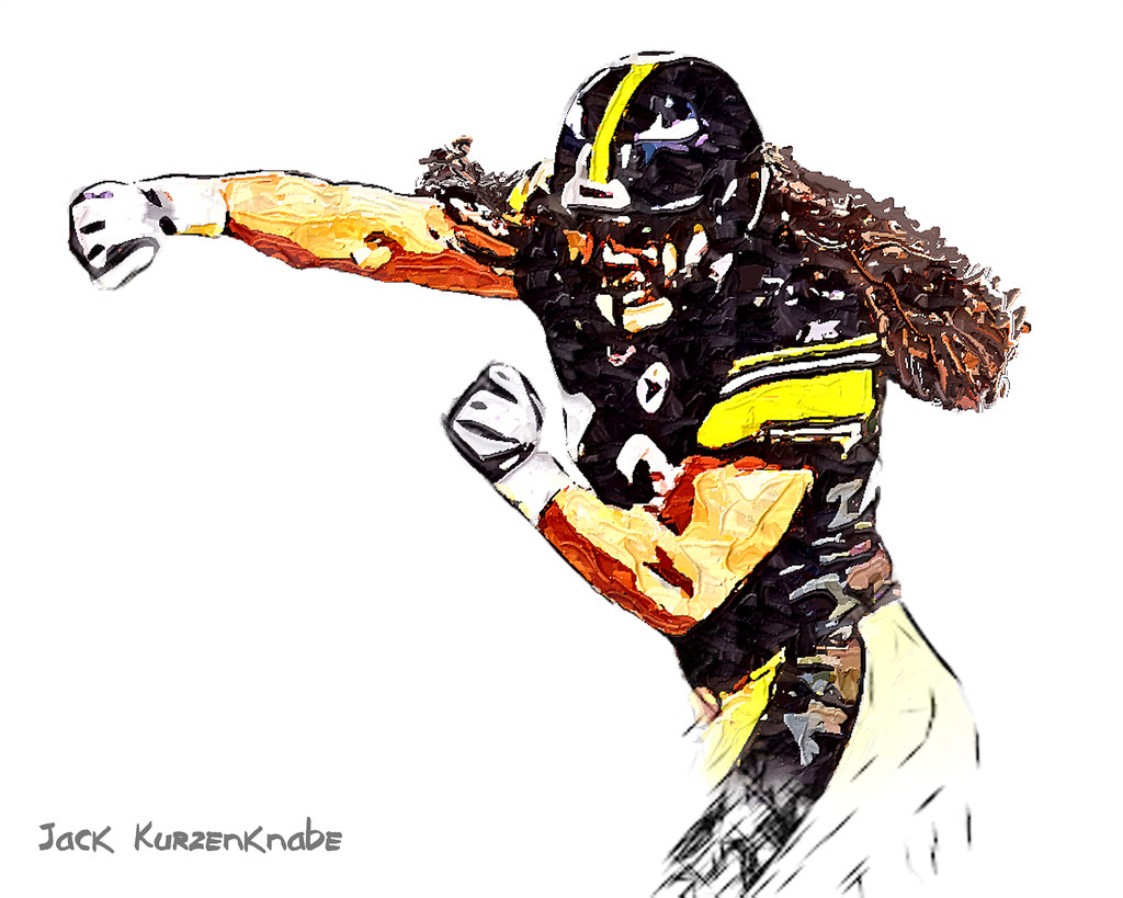 0 Pittsburgh Steelers Troy Polamalu | View all my NFL ...