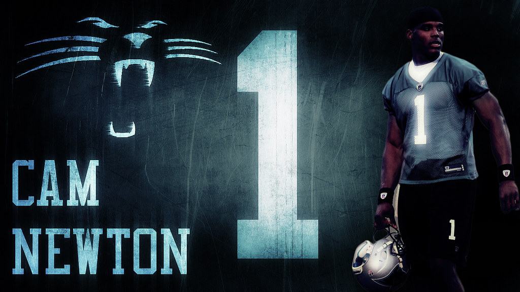 Carolina panthers cam newton wallpaper mcbeastie flickr carolina panthers cam newton wallpaper by mcbeastie voltagebd Image collections