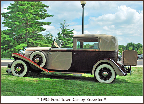 1935 Ford Brewster Town Car | by sjb4photos