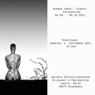 "Sept. 4th - Oct. 4th • Vernon Trent Exhibition ""SEANCE"" in Osnabrück, Germany 