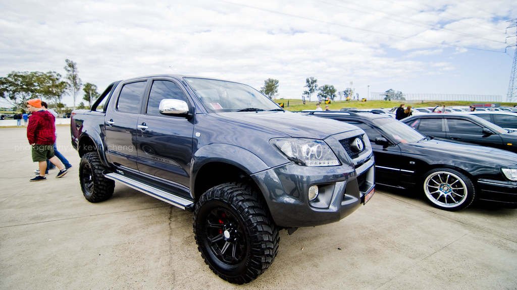 Lifted Trd Hilux World Time Attack Challenge 6 8 2011