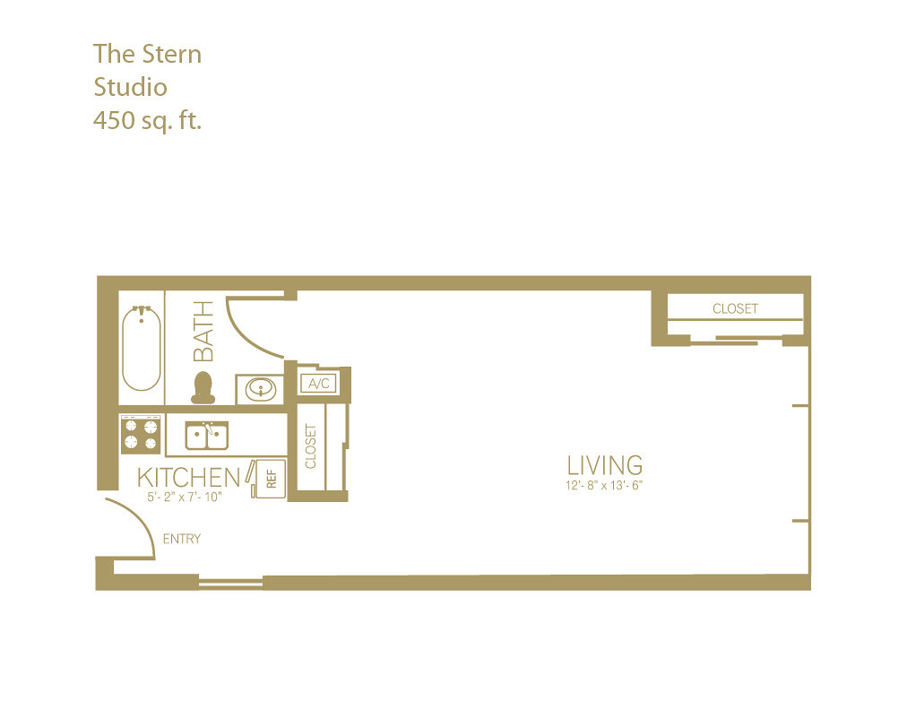 The Stern Studio 450 Sq Ft Nautica Apts Flickr