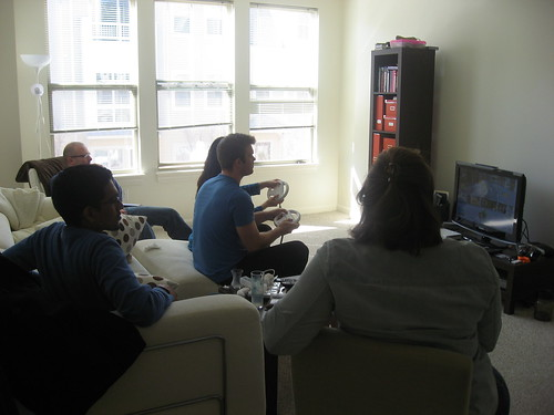 Friends, Turkish breakfast, and Wii. | by angrylittlechemist