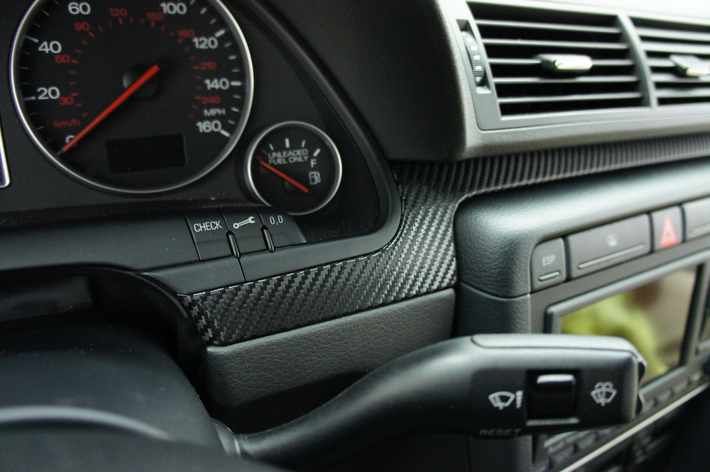 Audi A4 B6 Carbon Wraped Interior Trim Extreme Autowerks
