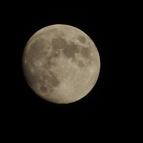 Moon Phase Of The Moon On 11 August Waxing Gibbous With