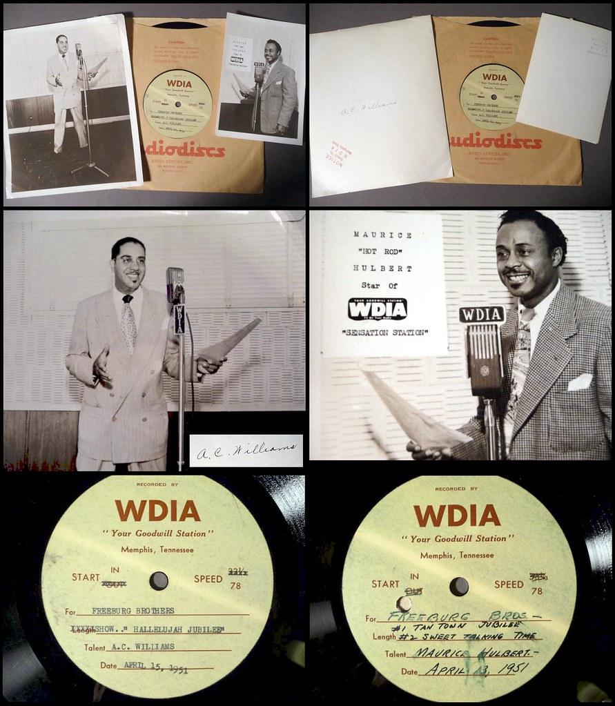 1951 advertising spots by djs at wdia memphis tn  1951 advertising spots by djs at wdia memphis tn by 942594329441