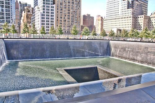 The reflecting pool at 9 11 memorial ground zero 15 flickr - Ground zero pools ...