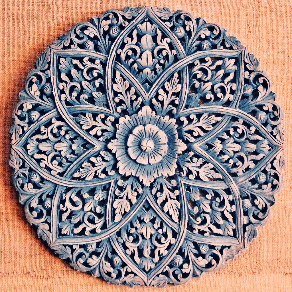 Wooden Carved Mandala Vita Ital Flickr