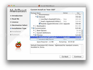 Multibeast Install Options 3 | by L33tdawg