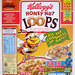 1993 Kellogg's Honey Nut Loops Cereal Box Thunderbirds