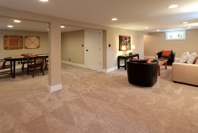 Basement photo by barefoot studios sean madden flickr for Free finished basement plans