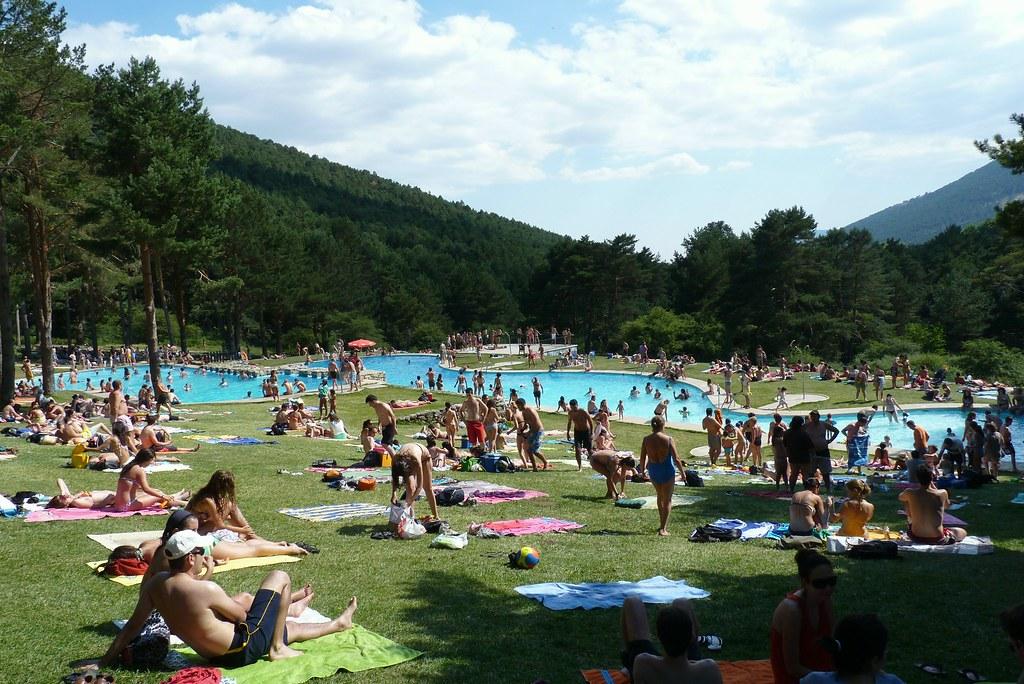 piscinas de las dehesas cercedilla este bello paisaje