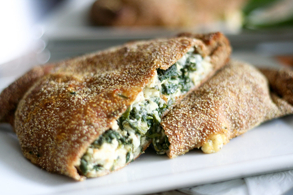 Spinach Calzone-15 | Cheesy spinach calzones with a secret i ...