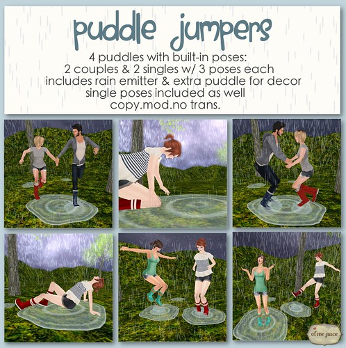 Puddle Jumpers | by IsabellaGrace Baroque (Bella)
