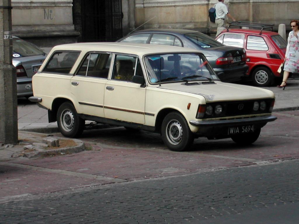 1982-83 FSO 125p estate | Seen...