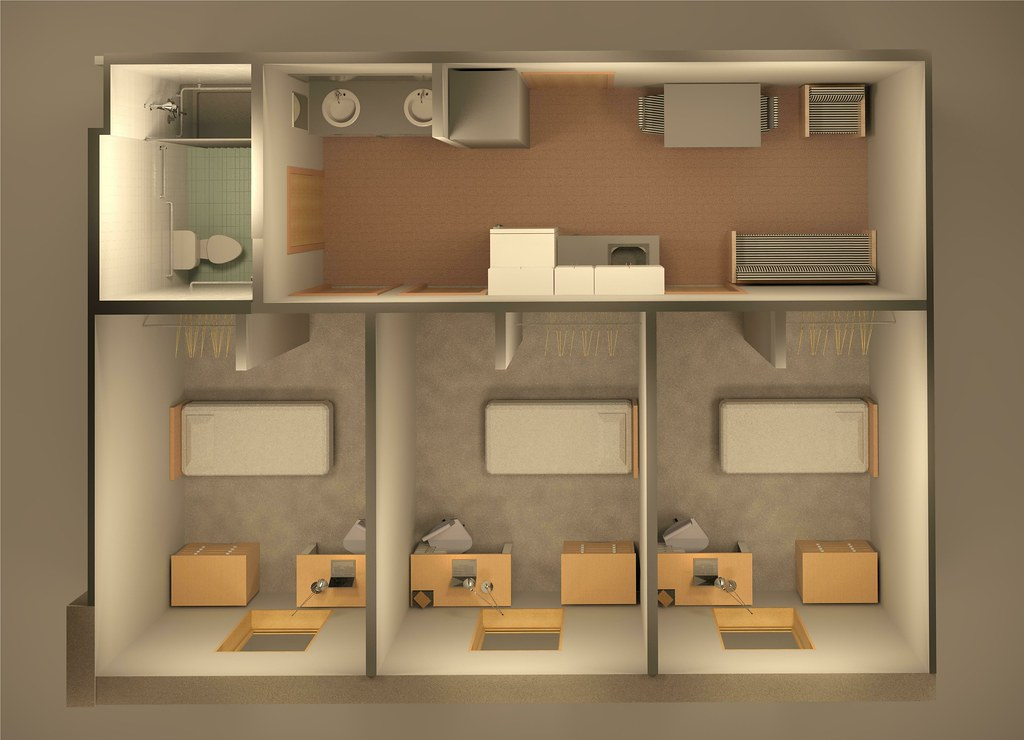 Osprey Hall Resident Floor Plan This Unit With Three