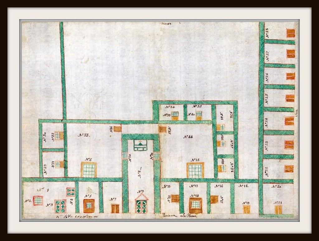 la plaza, la Cárcel, capilla y cuartos de alquiler de la v… | Flickr