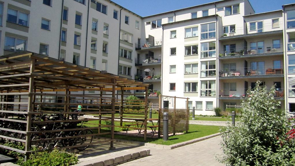 Courtyard Housing Of V 228 Stra Hamnen La Citta Vita Flickr