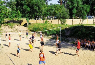 Beach Volleyball Village le Sylvamar, Aquitaine, France | by Thomson Al Fresco