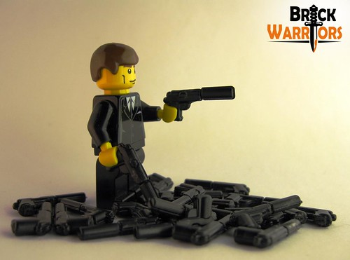 BrickWarriors Secret Agent Pistol (SAP) | by BrickWarriors - Ryan
