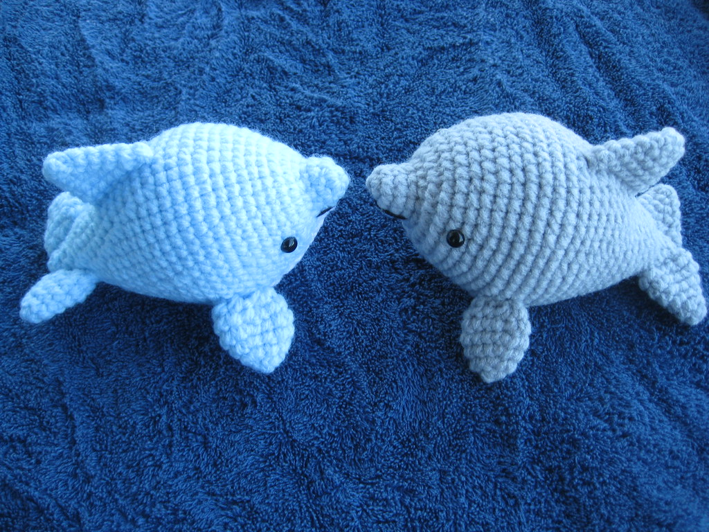 Crochet Amigurumi Dolphin Pattern : Amigurumi Dolphin July 2011 Dolphin Amigurumi Pattern My ...