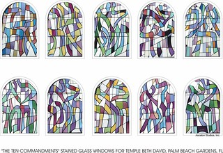 Ten Commandments Stained Glass Windows By Ascalon Studio Flickr