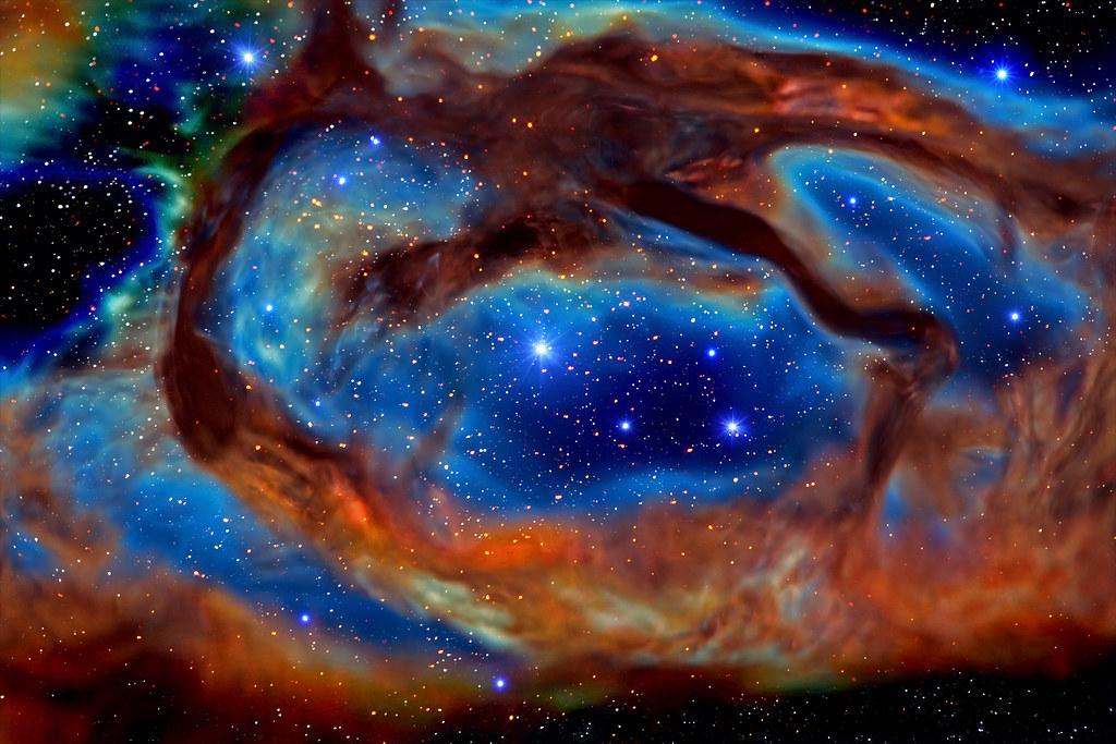 Deep Space 50 - Dragon Nebula (AKA - 488.4KB