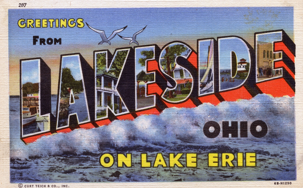 Greetings from lakeside ohio on lake erie large letter flickr greetings from lakeside ohio on lake erie large letter postcard by shook publicscrutiny Image collections