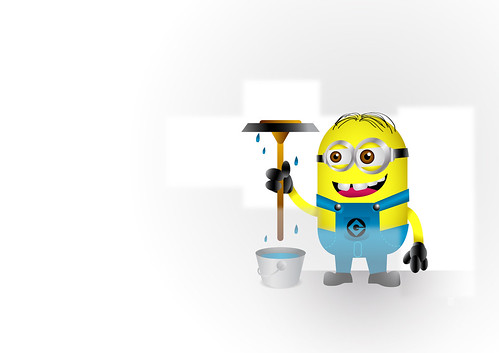 Minion Wallpaper - Tutorial | by Marcos D. Torres