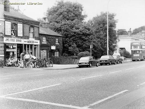 Jim's Cycle Service, Wilmslow Rd, Didsbury, 1967