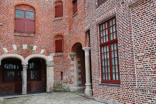 Cour architecture flamande typique du 16 me au 18 me for Architecture flamande