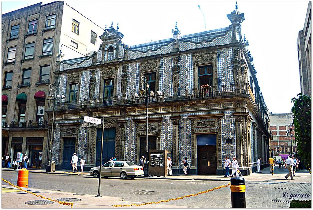 Casa de los azulejos calle condesa y av cinco de mayo ce for Sanborns orizaba