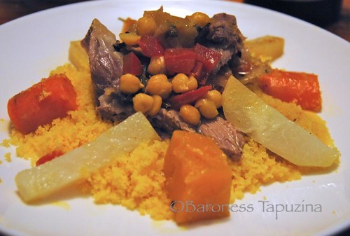 Corn Couscous with Lamb and Vegetables | by BaronessTapuzina