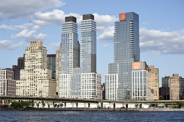 High Rise Apartment Buildings And The West Side Highway