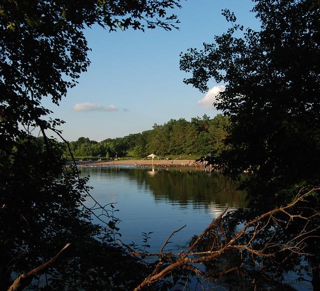 Schultz Lake Beach Lebanon Hills Park Eagan Mn By